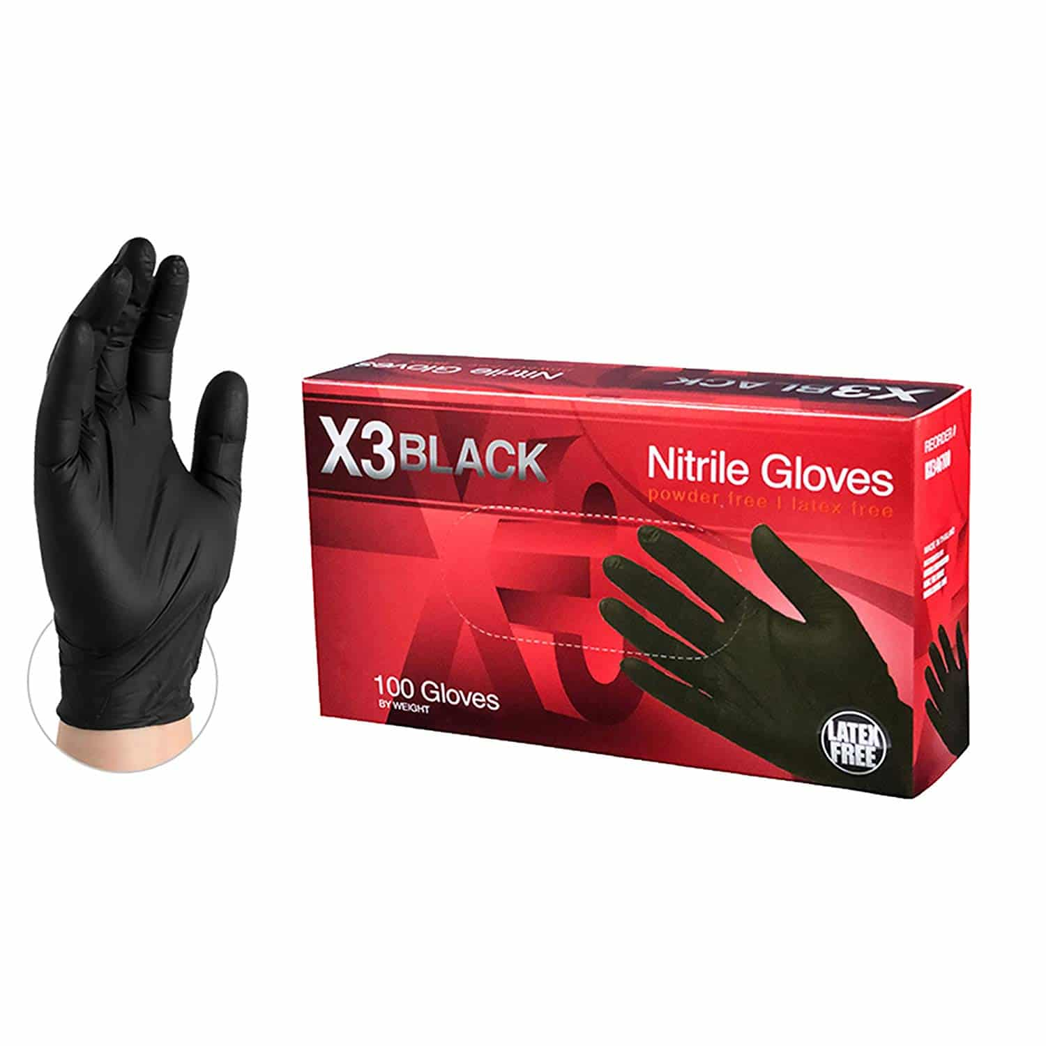 latex gloves for expressing milk