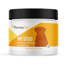 Mr Stud has proven to be an effective supplement for stud dogs.